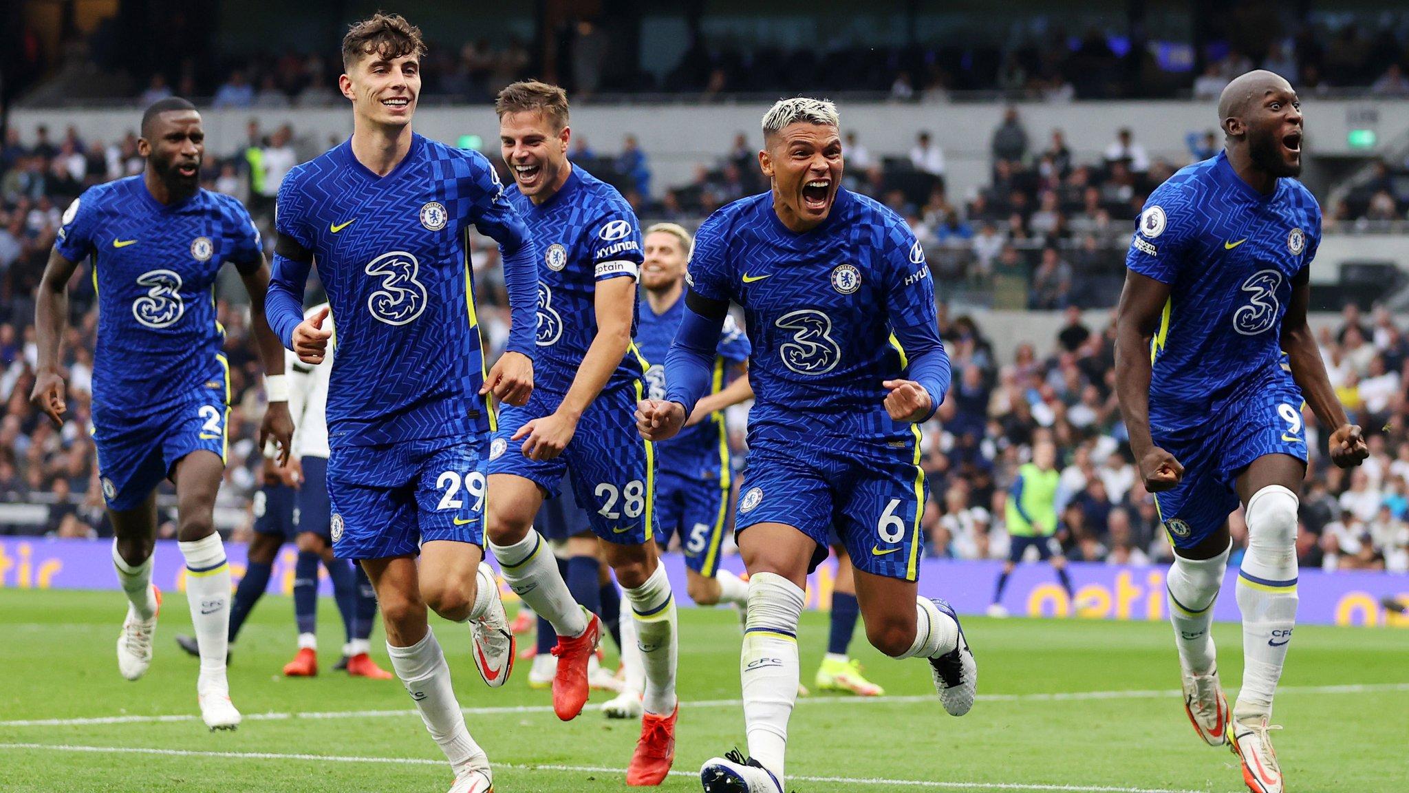 Tottenham vs Chelsea 0-3 Premier League 2021-2022