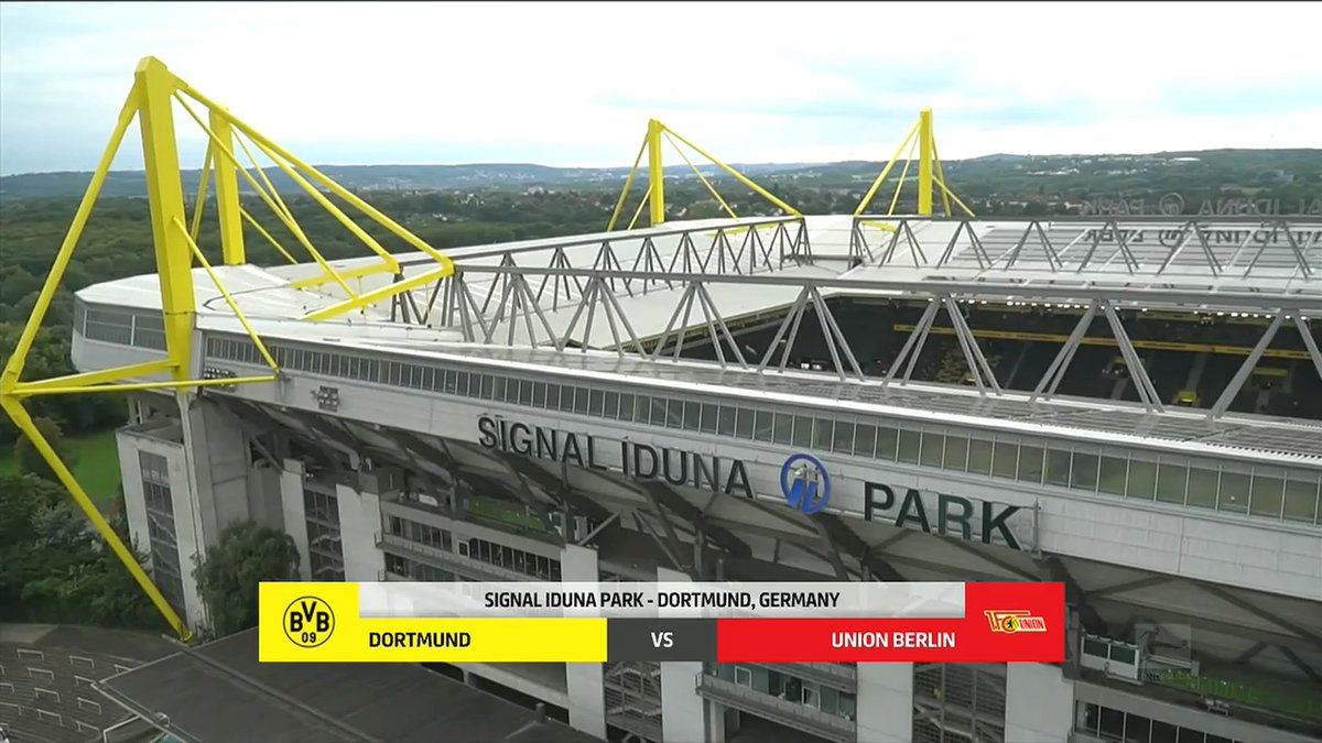 Full match: Borussia Dortmund vs Union Berlin