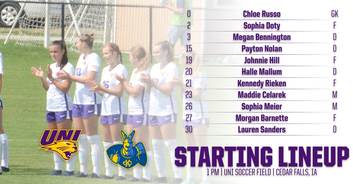 We see you @HalleMallum !  Congrats on the start and the win! ⚽️