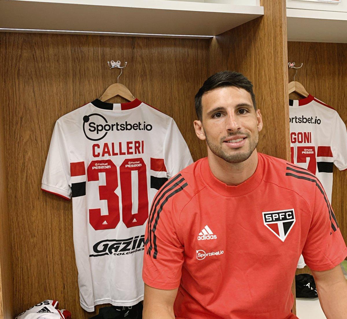 Camisa 30 é a dele @Jocalleri 🔛 #MorumbiENM