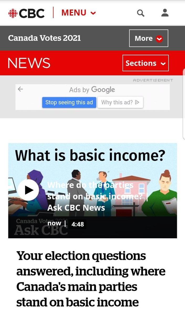 Canada is paying attention. Will you leave a comment on this article about why you support basic income? cbc.ca/news/canada-ho…