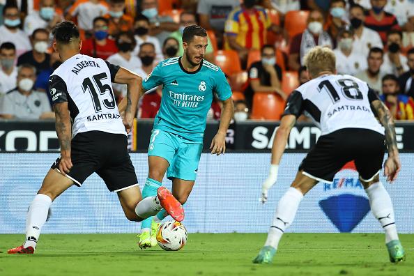Valencia vs Real Madrid 1-1 Liga Española 2021-2022