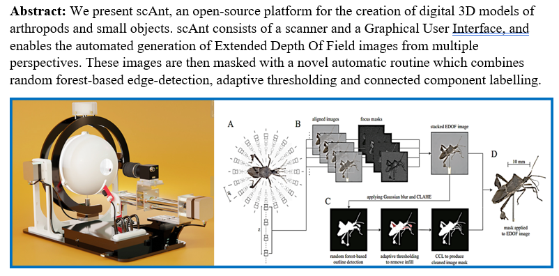 On Monday, @fabian_plum and I are giving a joint talk on our #OpenSource 3D photogrammetry rig #scAnt, future upgrades, and what we plan to do with the 3D models, including MoCap mapping, synthetic data for neural networks and more. Join if you're free & interested! #OpenScience https://t.co/TGejzYmXY0