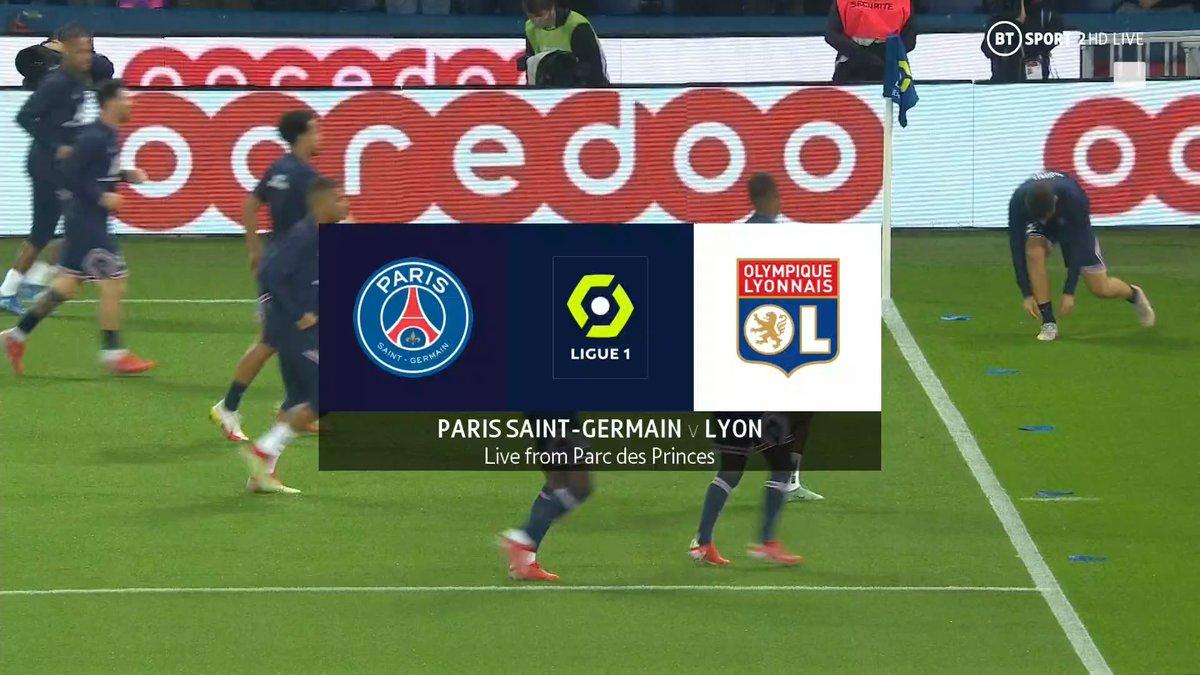 Full match: PSG vs Lyon