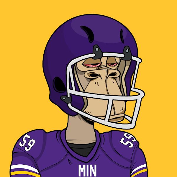 Another 🚨 Defensive Touchdown Alert!! 🚨 Minnesota Vikings #59 Nick Vigil just won two of our members 1eth each!!