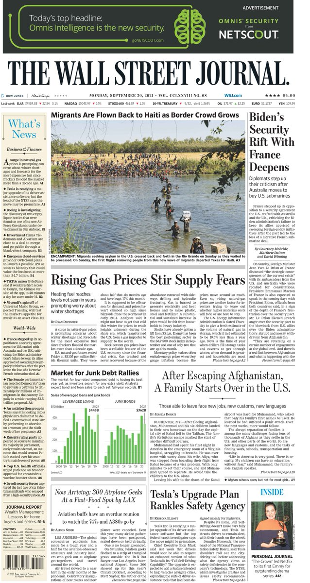 test Twitter Media - Take an early look at the front page of The Wall Street Journal https://t.co/5xQPDPcm8q https://t.co/PqT59bTalR