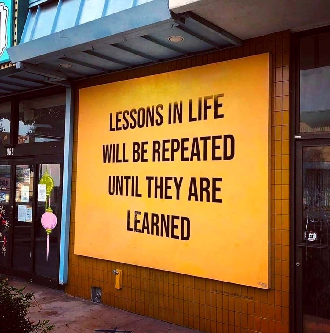...you have to repeat, whether you will or not, not learning from the past  means learning from present - period!