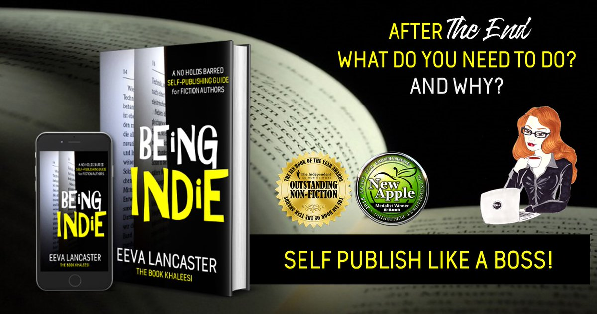 To be a published author is an achievement few can brag about. But not all Indies are created equal. This book will give you the edge you need. 👉getbook.at/beingindie  #WritingCommunity #publishing #bookdevelopment #amreading #indieauthor #bookcovers #formatting #BookBangs
