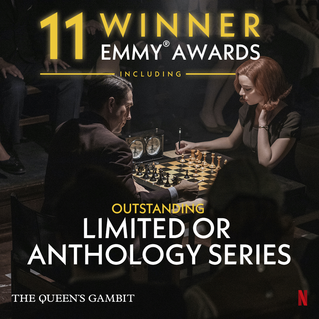 @netflix's photo on Queen's Gambit