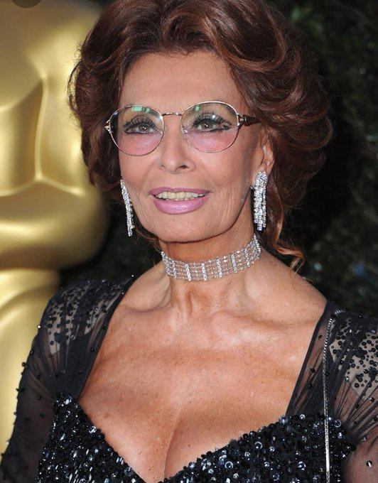 Happy Birthday to Sophia Loren who is 87 today.