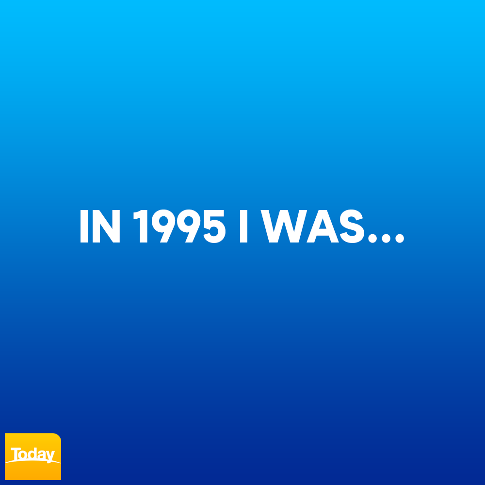 What were you up to all those years ago? #9Today
