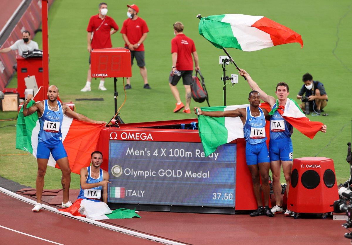 🇮🇹 Sporda İtalyan yazı devam ediyor…  🏆 Avrupa Erkekler Voleybol Şampiyonası 🏆 Avrupa Kadınlar Voleybol Şampiyonası  🥇 #Tokyo2020 Erkekler Yüksek Atlama 🥇 #Tokyo2020 Erkekler 4x100 metre  🥇 #Tokyo2020 Erkekler 100 metre  🎾 Wimbledon Tek Erkekler Finali 🏆 Euro 2020