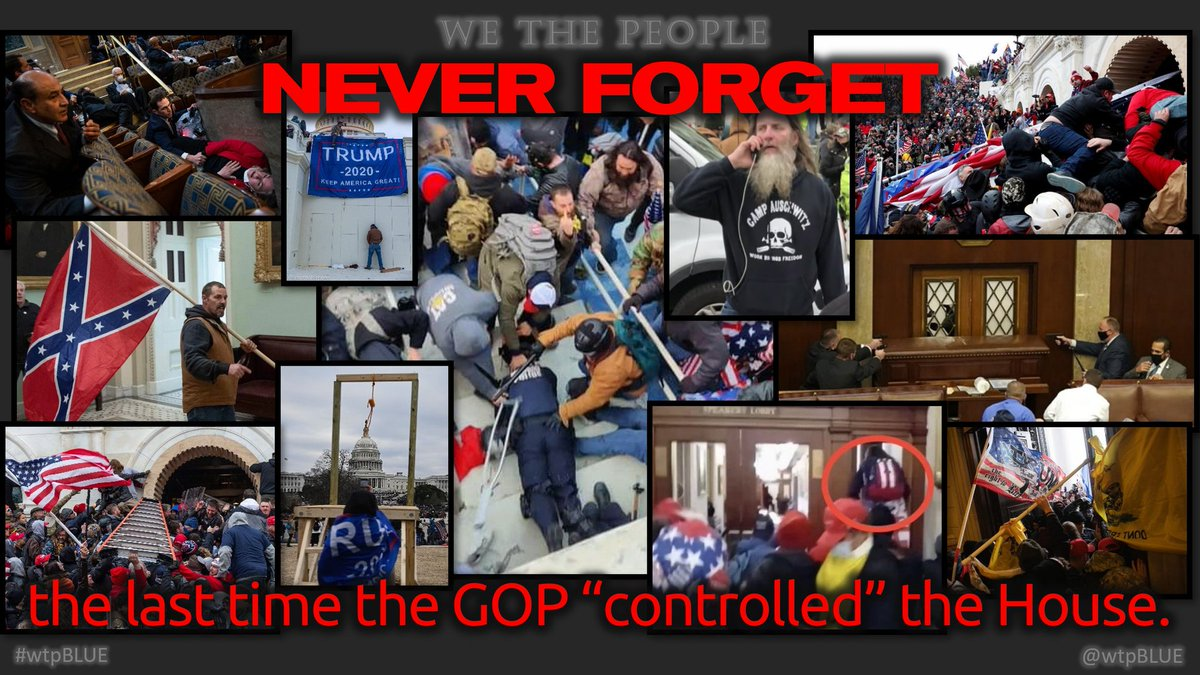 """Republicans have promised to """"impeach"""" President Biden & to stop all legislation if they win the House  Don't reward the party of the Jan. 6th violent insurrection with the Speaker's gavel!  #HelpDemsWin  #wtpBLUE @wtpBLUE #wtp1010 https://t.co/PdU4wy9uK8"""