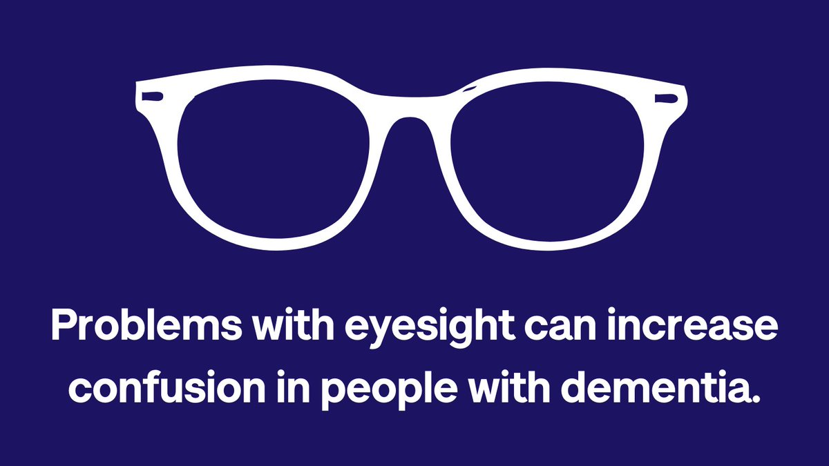 Did you know that hearing and eyesight problems can increase confusion for people living with #dementia? This useful resource from @alzheimerssoc explains why regular testing is so important #WorldAlzMonth #KnowDementia