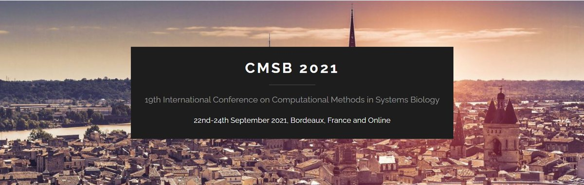 📢Tomorrow morning @GauravS51960868 will present the following paper @2021CMSB conference: https://t.co/mKpy8D0L8u