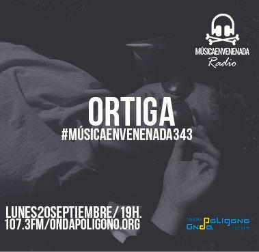 Esta tarde, a partir de las 19 horas, @musicenvenenada en 📻 107.3 FM o también en 🌍 https://t.co/TCI16aiO1o