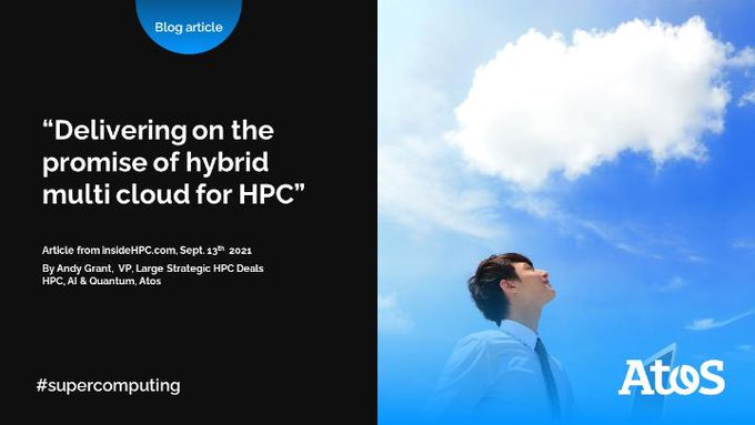 #HPC cloud usage is expanding across all industry sectors with a strong desire from...