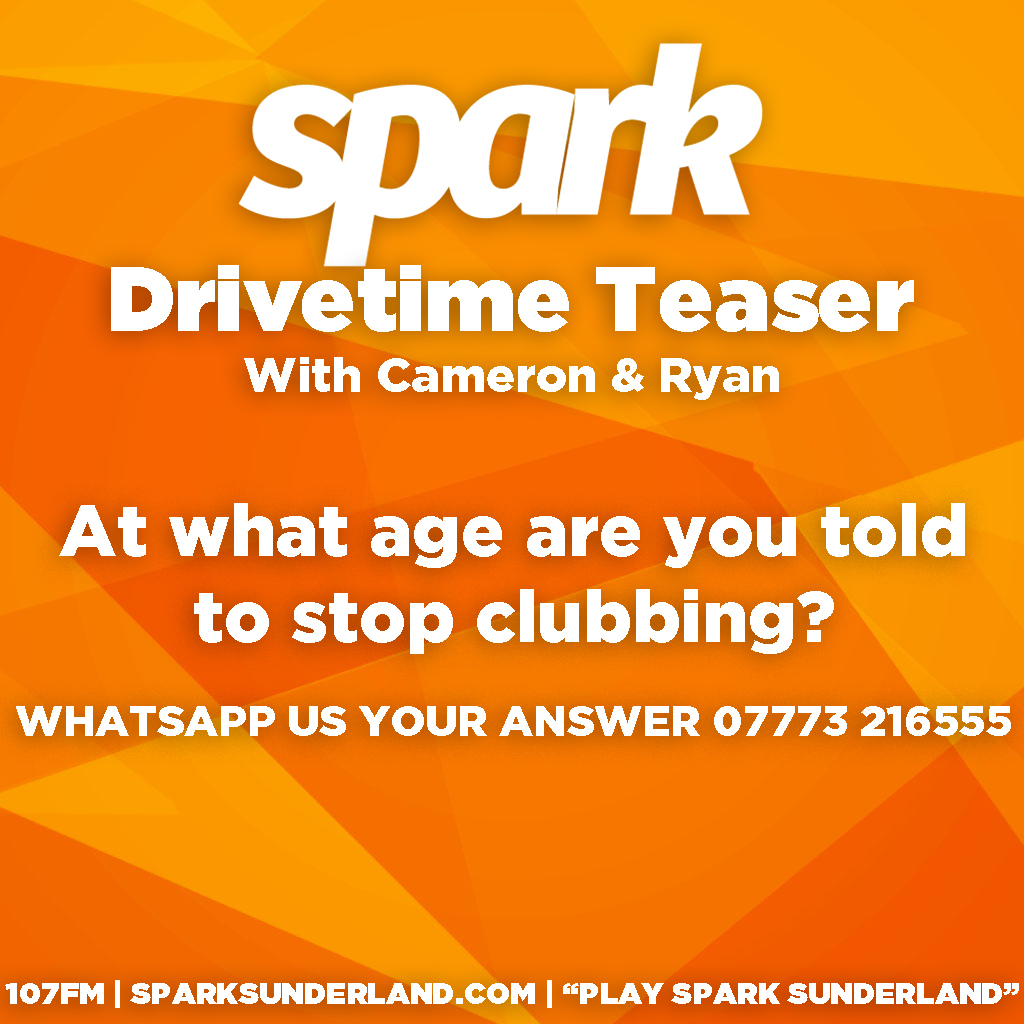 Here is today's Drivetime Teaser!   Got an answer? Send us a WhatsApp on 07773 216555!