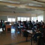 Image for the Tweet beginning: #Climbats training school on #metabarcoding