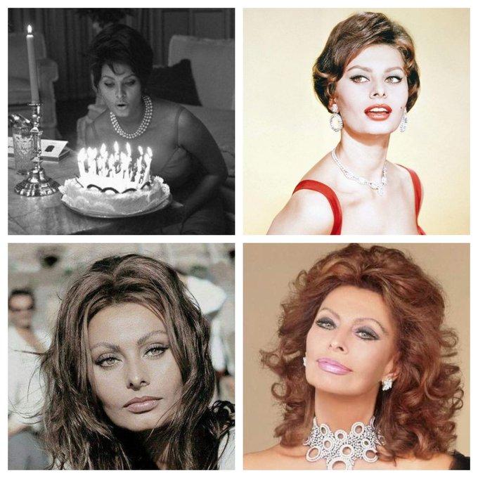 Happy 87th Birthday to Sophia Loren !