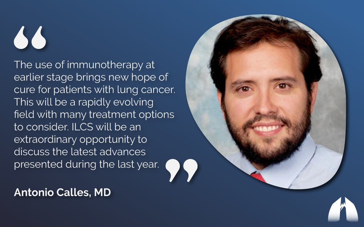 Image for the Tweet beginning: Immunotherapy for #NSCLC is continually