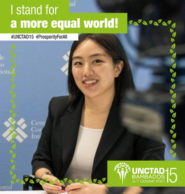 How can we build a more equal world?  Give entrepreneurs in developing countries space to ✨share their stories✨ and concerns with decisionmakers, to co-develop practical solutions. Then scale solutions.  Pledge your support for #ProsperityForAll: unctad15.org/pledge