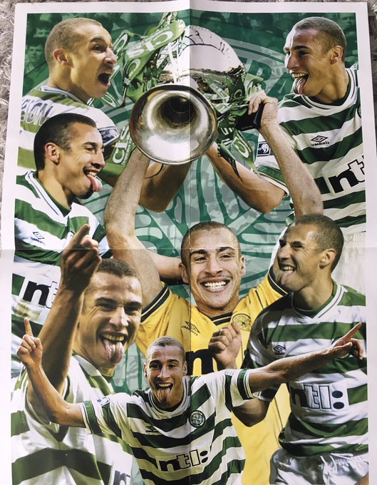 Happy 50th birthday to the King Of Kings. Henrik Larsson.