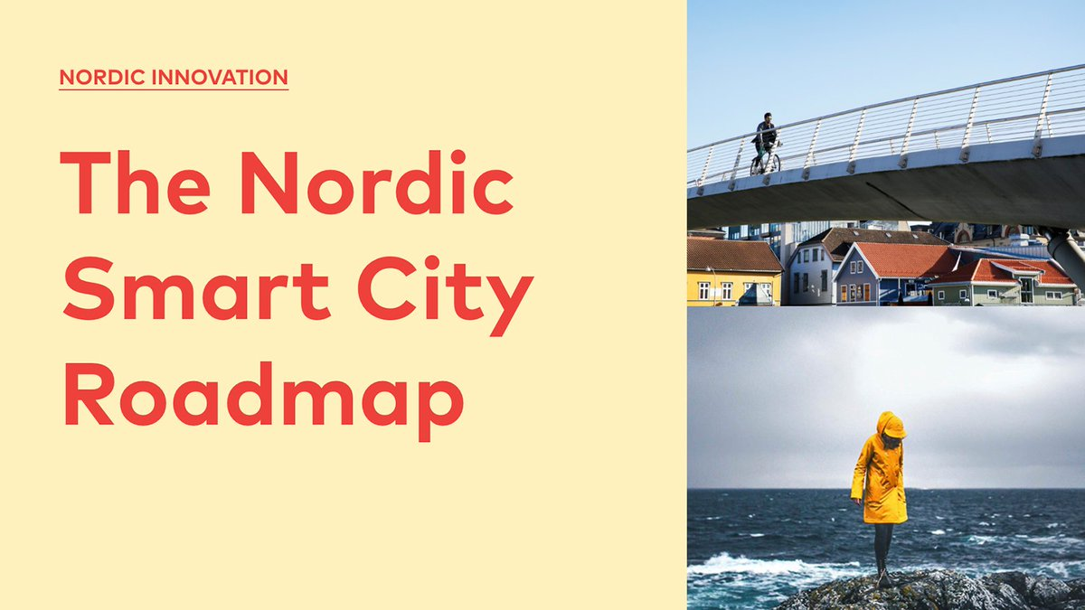 We are excited to be part of the working group behind the New Nordic Smart City Roadmap – a joint framework for smart city work in cities and municipalities both in the Nordics and internationally. The Roadmap was launched today at the @nordicedgeexpo: https://t.co/PjGeweygGw