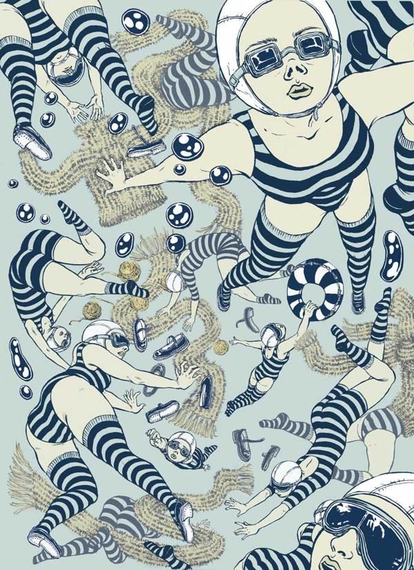 Yuko Shimizu, New York based award winning Japanese illustrator #WomensArt