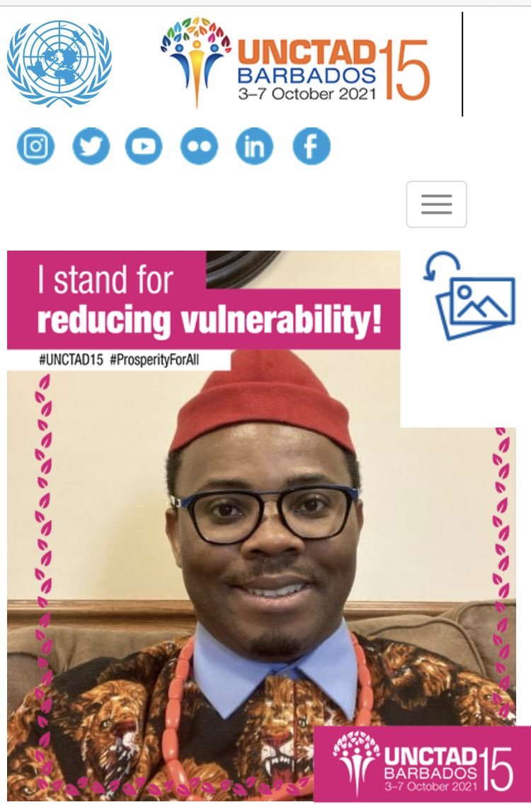 #COVID19 has hit the most vulnerable countries and people the hardest. Let's reduce vulnerability and ensure #ProsperityForAll.