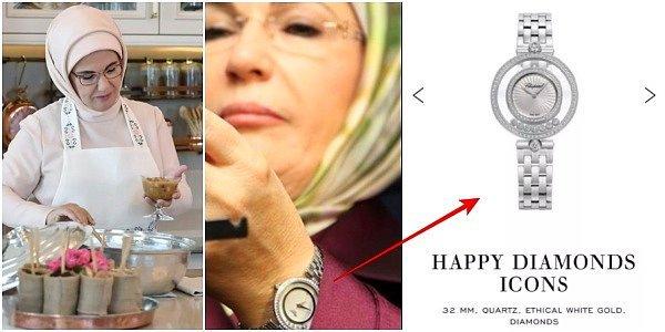 Emine Erdoğan'ın Kullandığı Dünyaca Ünlü Markanın Saatinin Fiyatı Birçok Kişinin Dikkatini Çekti oned.io/h/1004450?o