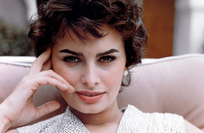 Happy birthday to wonderful Sophia Loren!