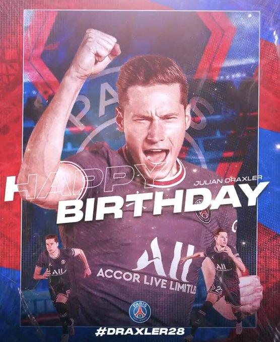 I Joyeux anniversaire I Happy Birthday Julian Draxler 2 8