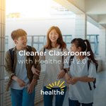 Healthe AIR can clean up to 99.9% of pathogens in the air we breathe utilizing UVC technology.  It's a powerful, safe and effective tool to add to your school's mitigation strategy.  Find out more at https://t.co/FZfMihfKv0  #ThisisHealthe #HealtheInc #CleanAir #CleanSchool #UVC