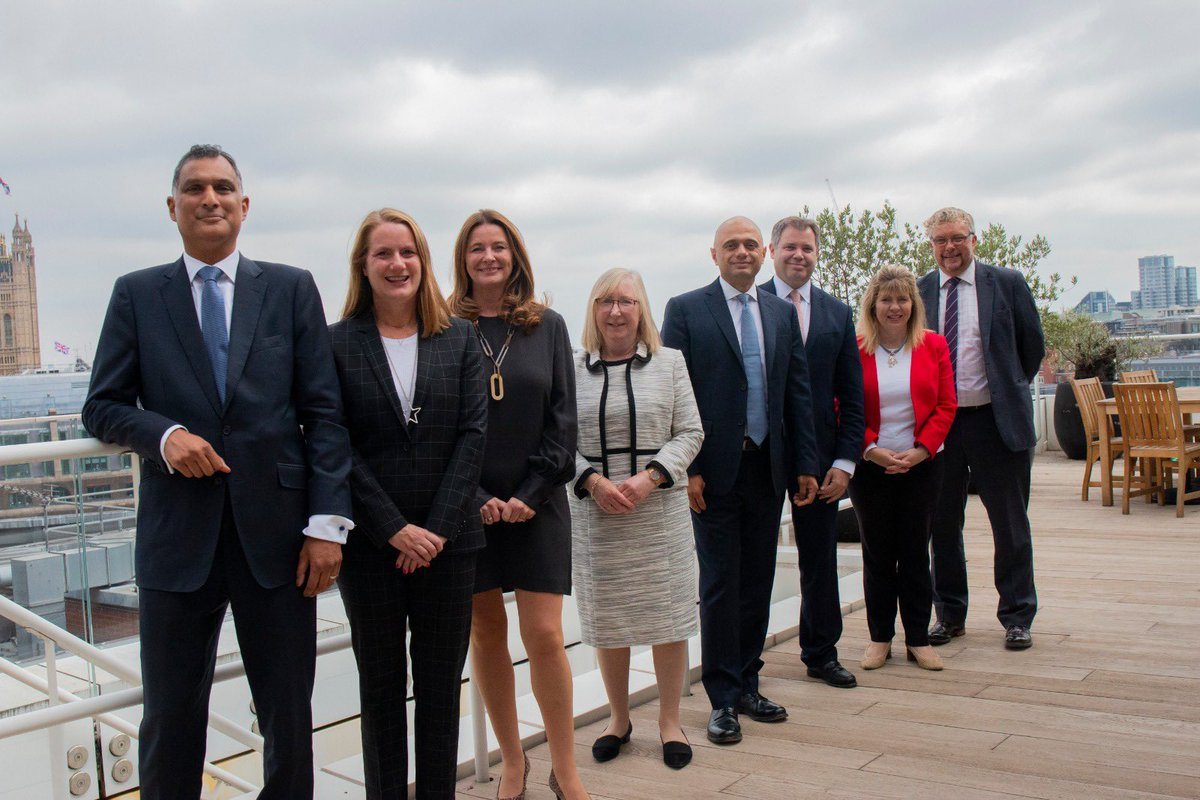 Great meeting with my new ministerial team @DHSCgovuk today. Looking forward to working with Ed Argar @SyedKamall @MariaCaulfield @maggie_erewash & @GillianKeegan as we deliver our reforms to health and social care, tackle waiting lists and level up health across the country.