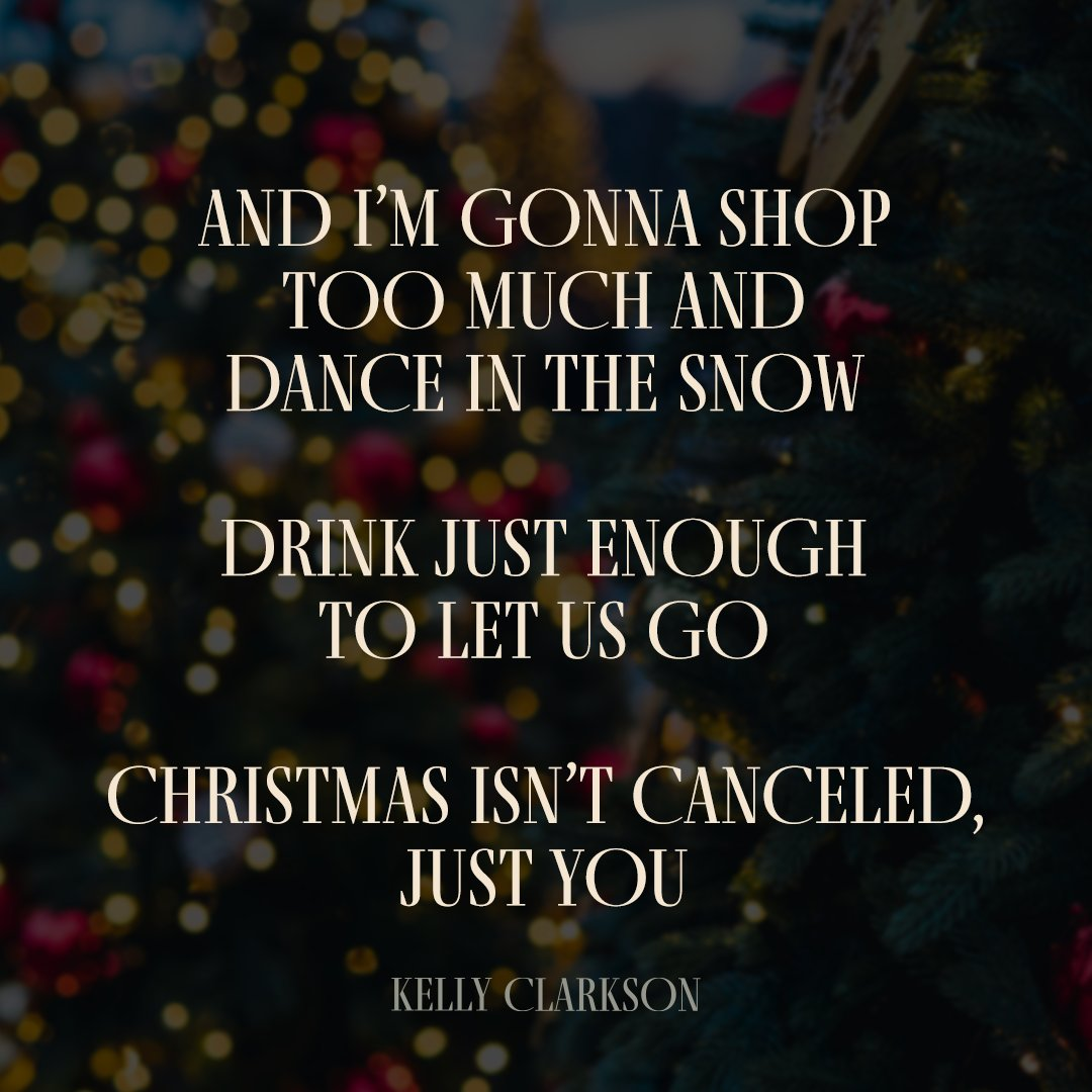 """3 days until my new Christmas single is here... 🎄🎶 Pre-save """"Christmas Isn't Canceled (Just You)"""" now at https://t.co/6MaUpJpMlw. #ChristmasIsntCanceled https://t.co/E0v1QtajCd"""