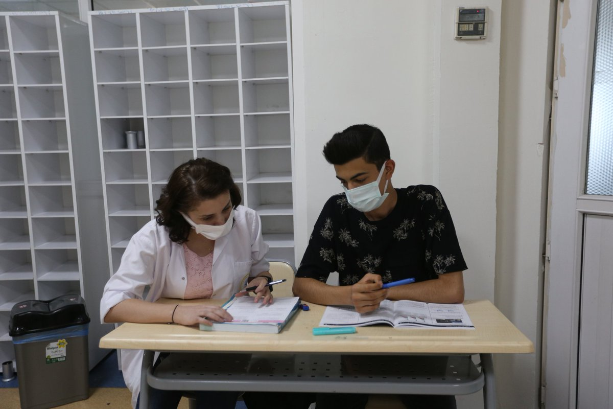 6 bin etüt öğrencisi 2021 - 2022 eğitim öğretim yılında Liselere Geçiş Sınavı (LGS) ve Yüksek Öğretim Kurumları Sınavlarına (YKS) @Gasmekgaziantep ile hazırlanacaklar.
