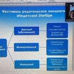 """Image for the Tweet beginning: Фестиваль родительских инициатив """"Недетский StartUp""""(организатор"""