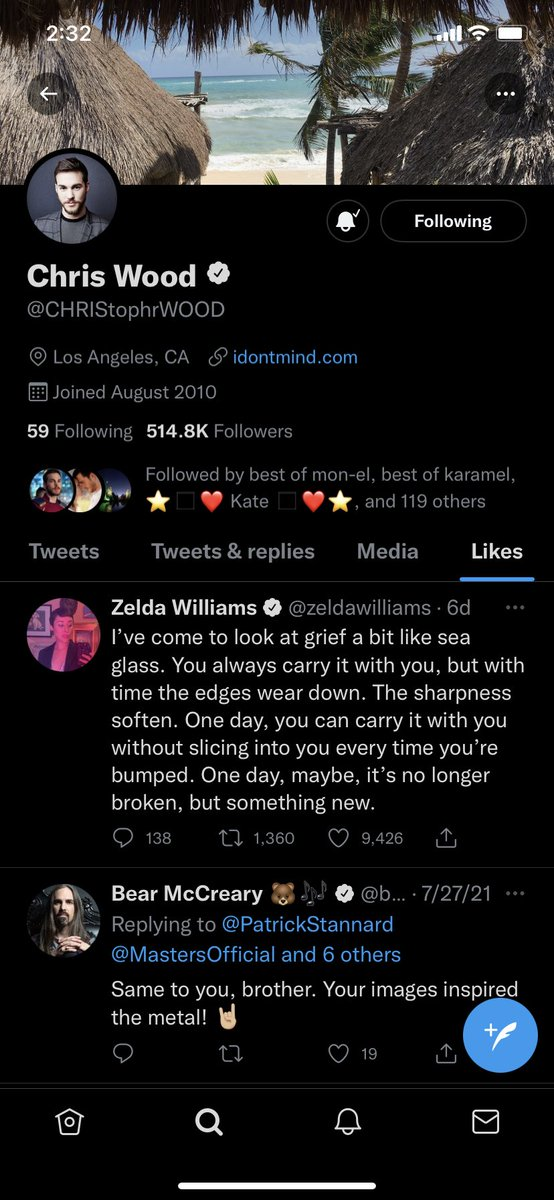 chris liked this and i'm 🥺