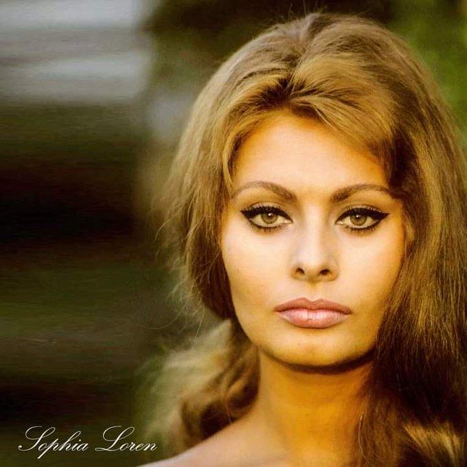 Happy 87th Birthday to SOPHIA LOREN (born 20 September 1934)