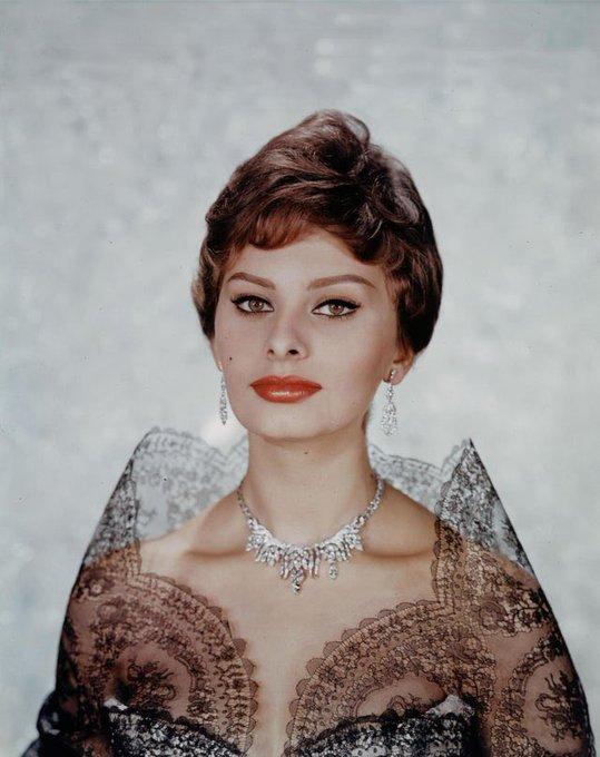 Happy 87th Birthday, Sophia Loren!   Forever style, always grace