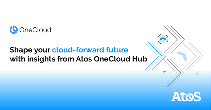 ☁️ Introducing the Atos #OneCloud Hub, your resource for cloud-related thought...