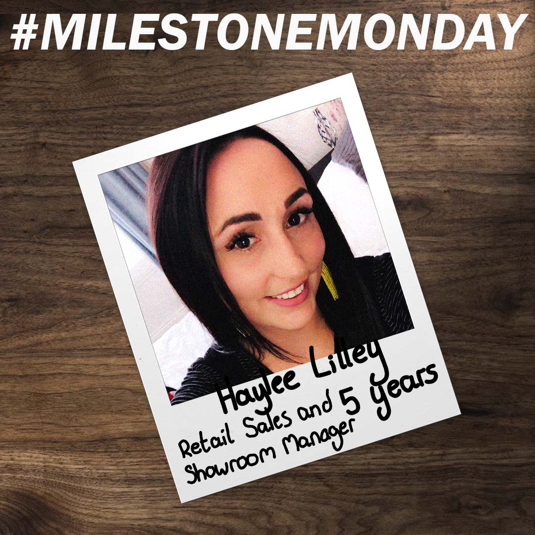 #MilestoneMonday is back! This time we have Haylee who has been working at Sidey for 5 years! https://t.co/O4jVifn4dR