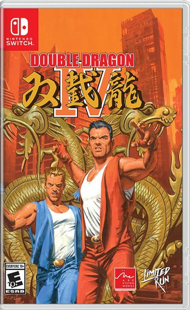 Pre-order Double Dragon IV for Switch for $29.99 at Best Buy. ()
