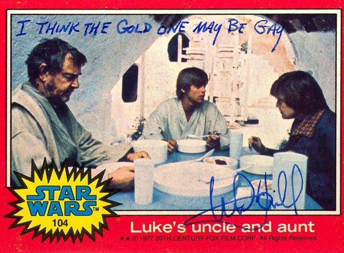 Many Happy Returns (of the Jedi) to birthday boy Mark Hamill, 70 today!