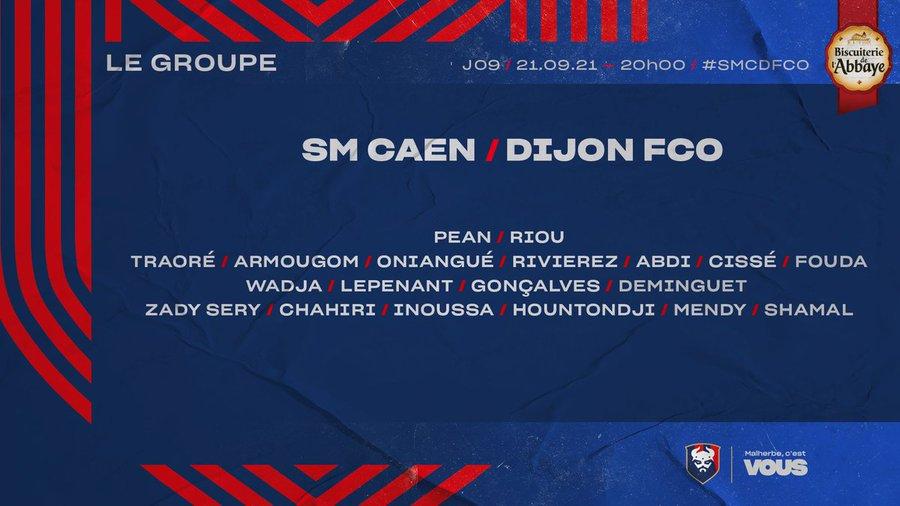 [9è journée de Ligue 2] SM Caen - Dijon FCO E_vlB9VX0AUcJvK?format=jpg&name=900x900