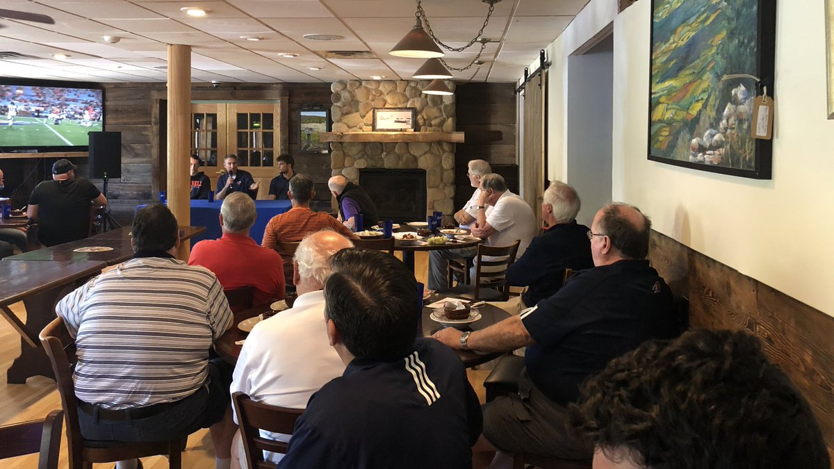 Great crowd at today's luncheon! Thanks to The Bull Run Tap House for the continued support! #ACT   #rayBucknell
