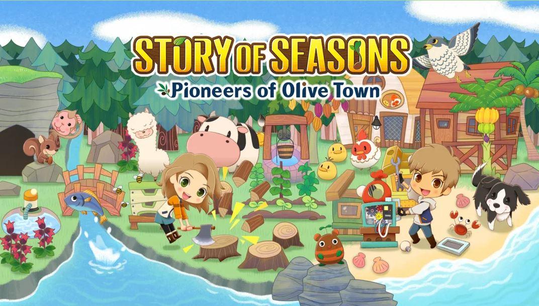 STORY OF SEASONS: Pioneers of Olive Town (S) $35.99 via eShop.