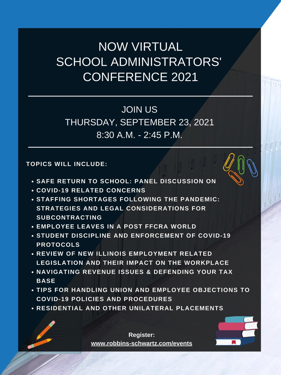 IASPA is proud to partner with Robbins Schwartz for this event.
