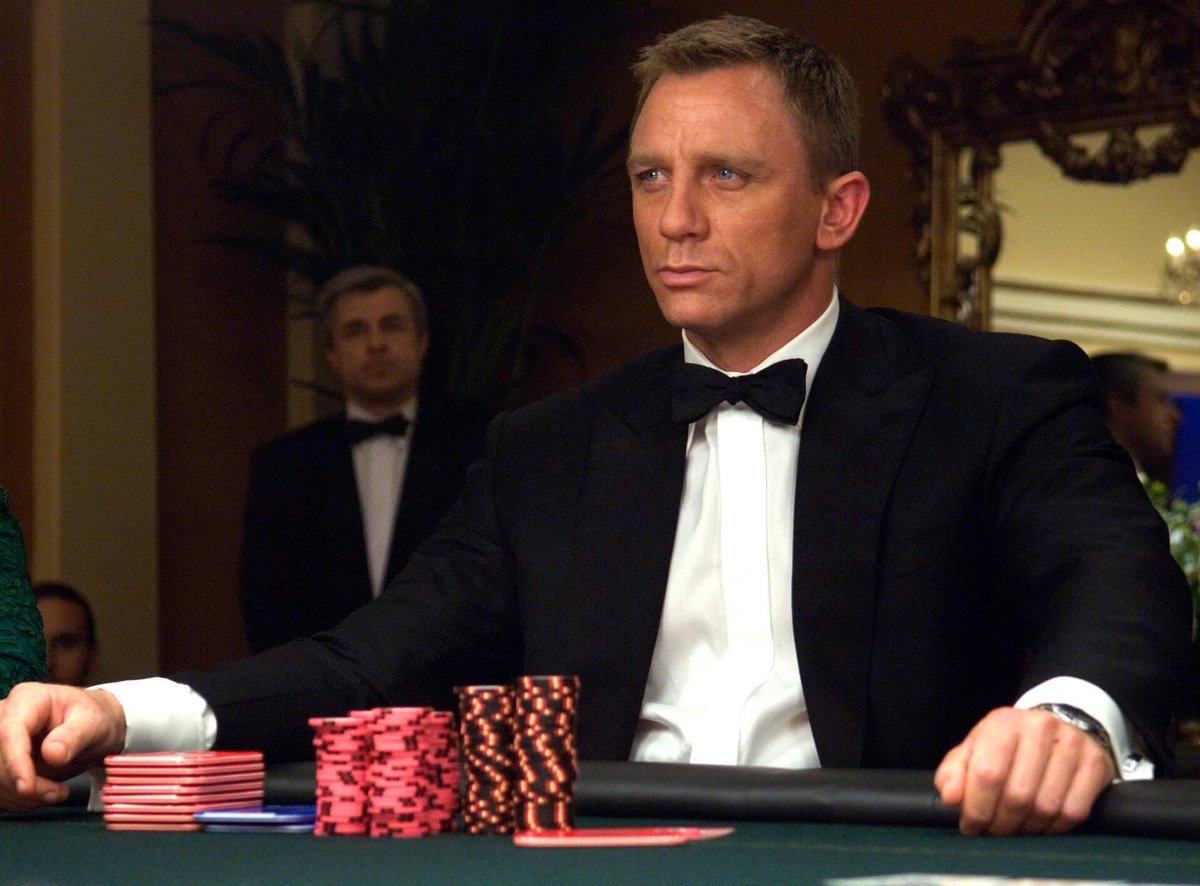 I'm almost at the age when it begins to sink in that #DanielCraig will more than likely be my last screen #JamesBond. I am #ShakenAndStirred by this.